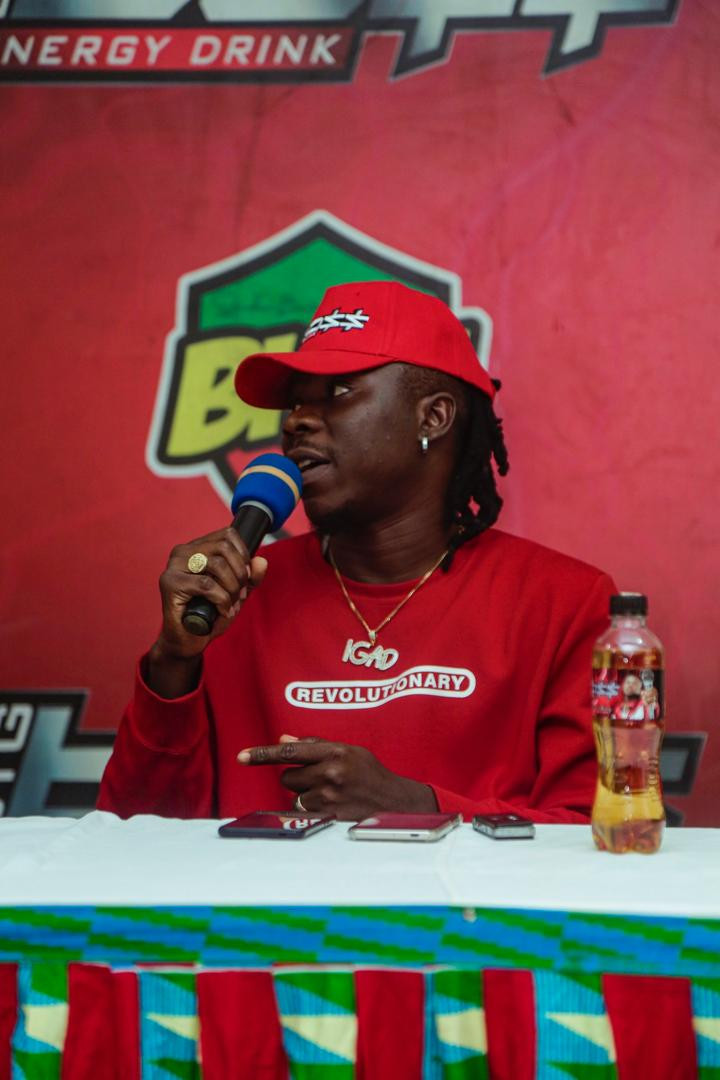 Stonebwoy Preaches Peace Ahead Of December 7 elections in Ghana