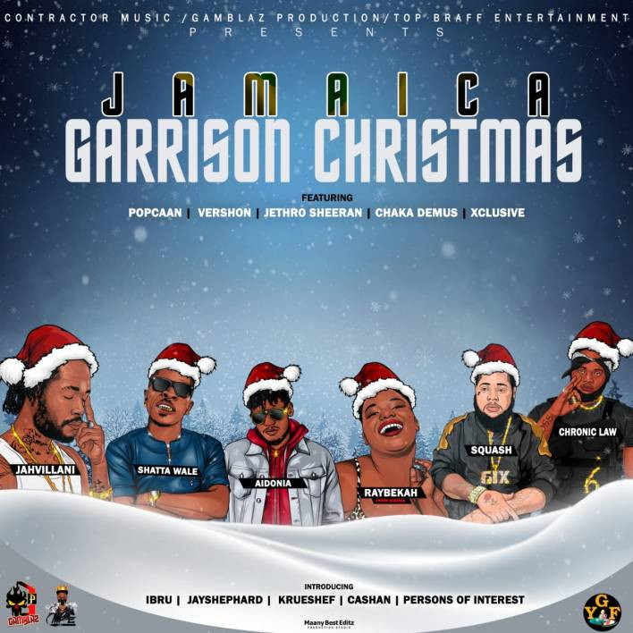 Shattawale Secures Another International Feature on; Jamaica Garrison Christmas Album