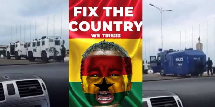 Supreme Court Nullifies Injunction Against #FixTheCountry Protest